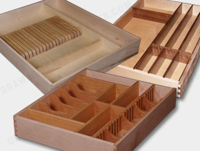 Western Dovetail Custom Wood Drawer Boxes