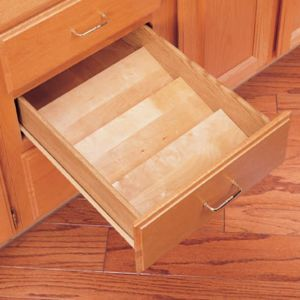 Rev-A-Shelf Wood Spice Organizer for Drawers Small