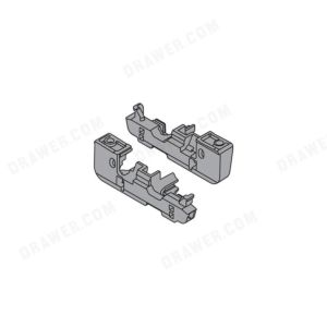 +/- 2mm Depth Adjustment Adapter Set for Movento Slides in Inset Applications