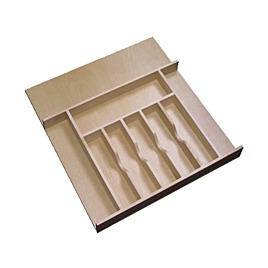 Rev-A-Shelf Wood Cutlery Organizer for Drawers Large