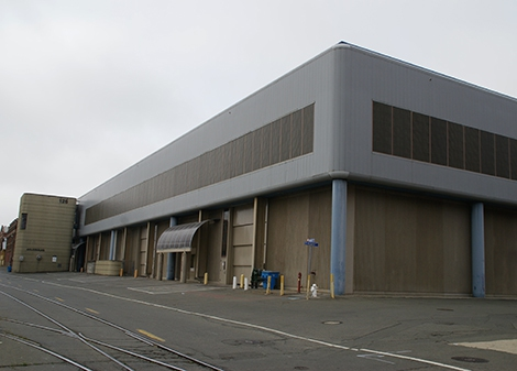 1101 Nimitz Ave, Vallejo CA  Western Dovetail, Inc.  Mare Island Pipe and Boiler Shop Building 126