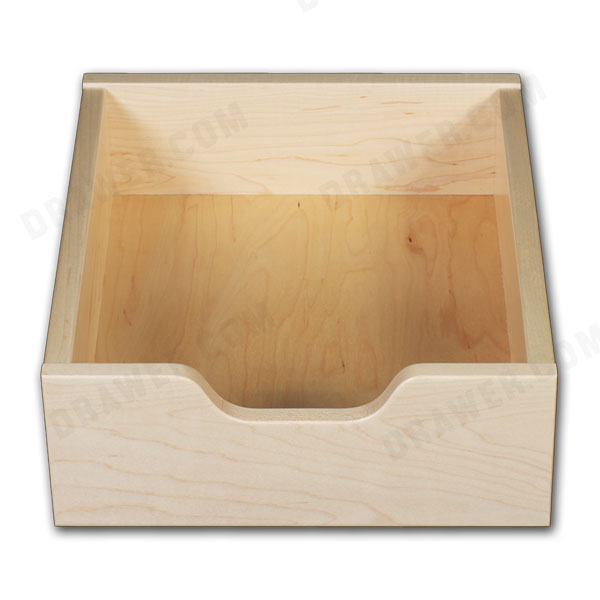 Maple pull-out drawer with scoop
